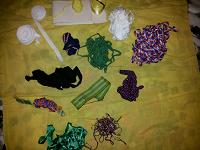 Отдается в дар ленточки и разная мелоччь для рукодельниц