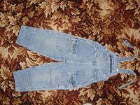 Отдается в дар Дарю джинсы на лямках детские рост 98-104