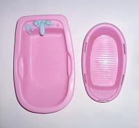 Отдается в дар 2 розовые ванночки-игрушки