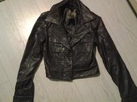 Отдается в дар Куртка кожа 100%