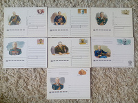 Отдается в дар Почтовые карточки с военначальниками