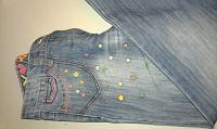 Отдается в дар джинсы для девочки Next