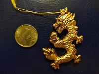 Отдается в дар Золотой дракон