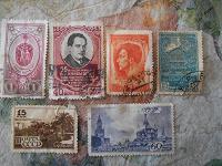 Отдается в дар Коллекционное — марки-открытки-фото