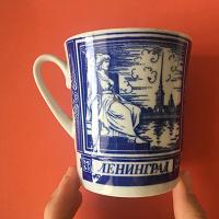Отдается в дар Чашка Ленинград
