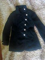 Отдается в дар Уютный стильный плащ пальто next s-m