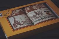 Отдается в дар Набор полотенец «Париж»