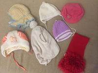 Отдается в дар Шапки, кепка, шарф на 1-2