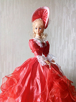 Отдается в дар Светильник в виде куклы