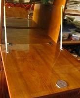 полка, дверца, стёкла в шкаф