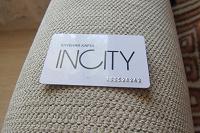 Отдается в дар Клубная карта Incity