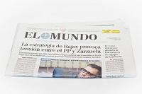 Отдается в дар Газета EL MUNDO на испанском языке