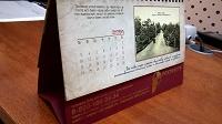 Отдается в дар календарь настольный