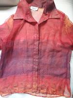 Отдается в дар Летняя прозрачная блуза
