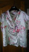 Отдается в дар Шелковая блуза 46 разм.