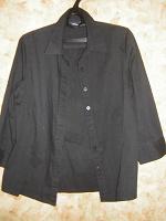 Отдается в дар Рубашка чёрная