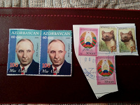 Отдается в дар Марки Белоруссии, Узбекистана