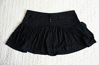 Отдается в дар короткая юбочка на кокетке трикотаж (S)