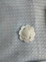 Отдается в дар Вязаная брошка -цветок
