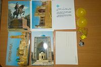 Отдается в дар Наборы открыток с городами Узбекистана