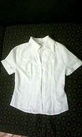 Отдается в дар Рубашка женская/подростковая белая