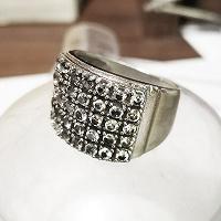 Отдается в дар Массивное кольцо, бижутерия