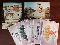 Отдается в дар Карточки почтовые