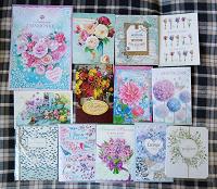 Отдается в дар открытки, календарики и закладки