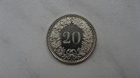 Отдается в дар Монета Швейцарии 20 раппенов 2016 г.