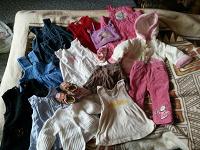 Отдается в дар Пакет одежды для девочки