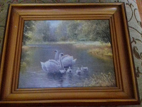 Отдается в дар картина лебеди