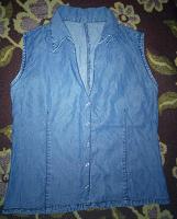 Отдается в дар Джинсовая рубашечка