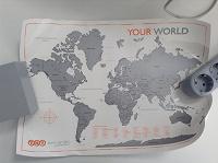 Отдается в дар Карта мира для обозначения стран, где вы побывали