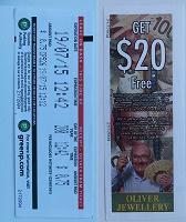 Отдается в дар Билеты