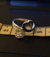 Отдается в дар Серебряное кольцо