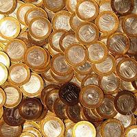 Отдается в дар биметаллическая монета по желанию