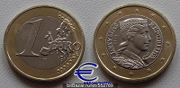 Отдается в дар Евро, монеты (Латвия)