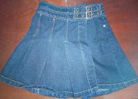 Отдается в дар Юбка джинсовая 5 лет