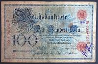 Отдается в дар 100 марок 1903