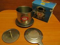 Отдается в дар Отдам миникофезаварку на чашку.