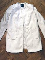 Отдается в дар Белое пальто Incity