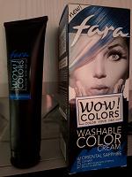 Отдается в дар Синяя краска для волос (остатки)