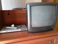 Отдается в дар Телевизор и DVD-плеер