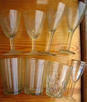 Отдается в дар рюмка стеклянная, стакан