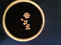 Отдается в дар Золотое колечко 14 К золото размер 16