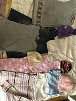 Отдается в дар Одежда на девочку от 1,5 лет до 3-4 лет б/у