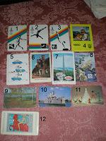Отдается в дар Календарики. продолжение (1980-1985)