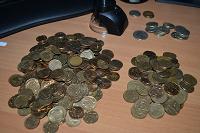 Отдается в дар Монеты 10 и 50 копеек с 1997 в погодовку