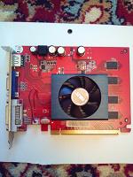Отдается в дар Видеокарта Palit Radeon HD 2400 Pro 256 Мб DDR2