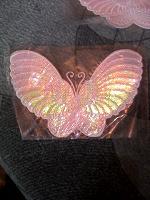 Отдается в дар термо аппликация бабочка